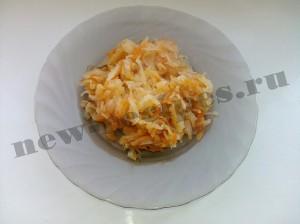 Вкусная тушёная капуста с томатом
