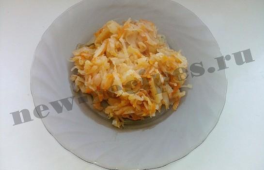 тушеная капуста с томатом 13
