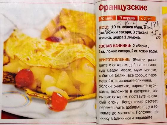 Рецепт блинов тонких пошаговый
