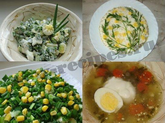 весенние блюда