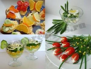 Весенние блюда с фото