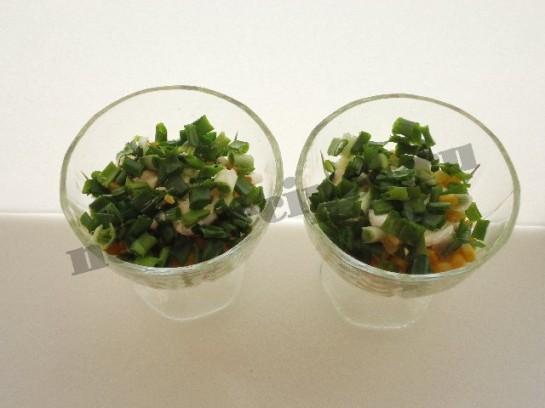 весенний салат в креманках 7