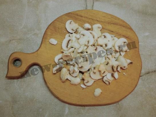жареная картошка с грибами 2