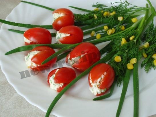 Салат из на зиму из помидоров по корейский
