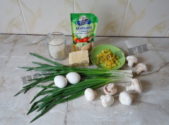 салат весенняя поляна 1