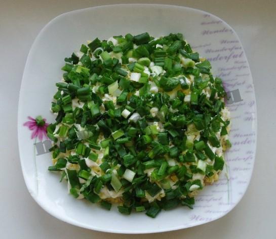 салат весенняя поляна 10