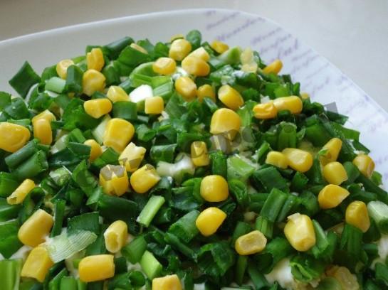 салат весенняя поляна 11