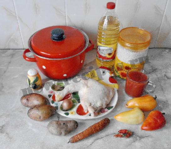 суп харчо с курицей 1