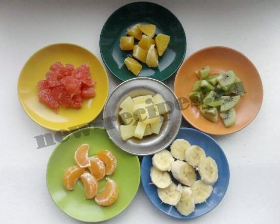 подготовим фрукты