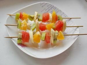 фруктовый шашлычок