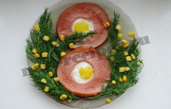 блюда на 8 марта яичница восьмерка 5