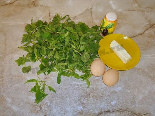 весенний рецепт оладьи из крапивы 2