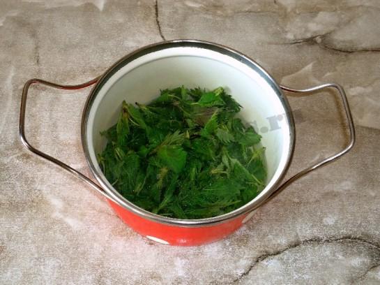 весенний рецепт оладьи из крапивы 3