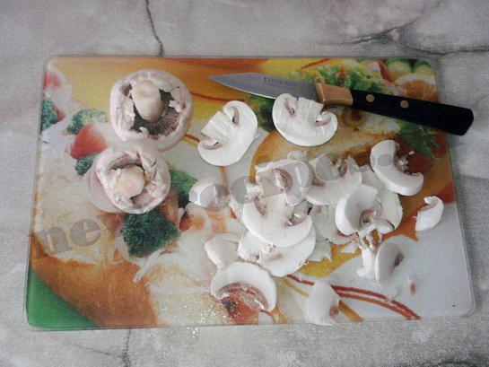 горячие бутерброды с грибами 2