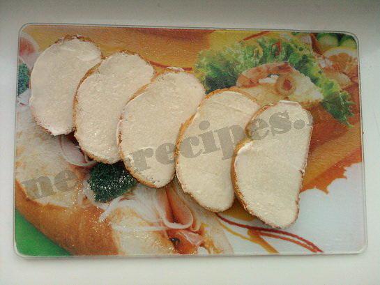 горячие бутерброды с грибами 7