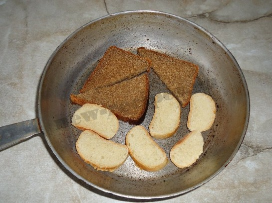гренки с чесноком фото 2
