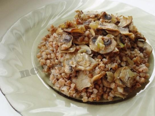Овощная гречка, пошаговый рецепт с фото