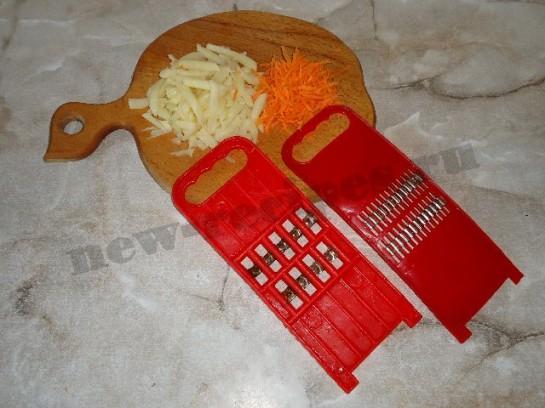 жареный картофель с чесноком 2