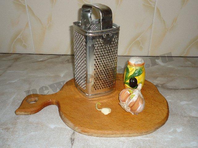 жареный картофель с чесноком 4