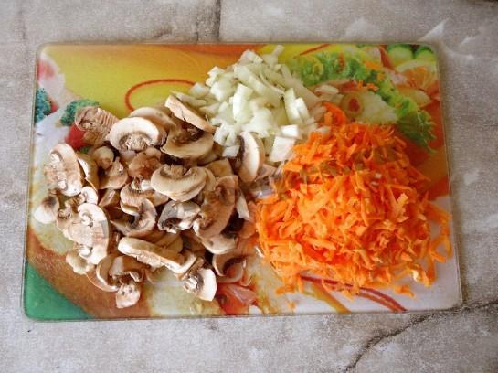 плов с грибами фото 3