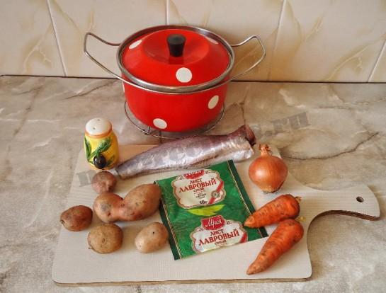 рыбный суп из хека 1