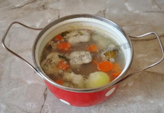рыбный суп из хека 5