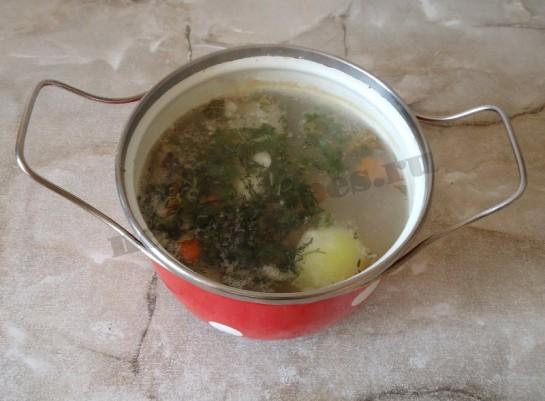 рыбный суп из хека 6