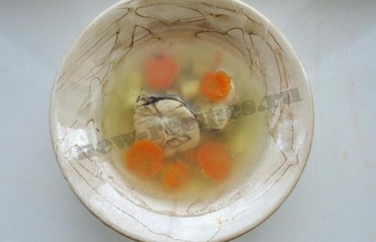 рыбный суп из хека 7