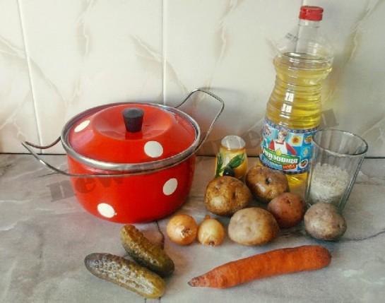 суп рассольник фото 1