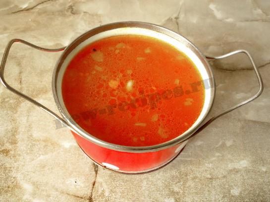 томатный суп фото 6