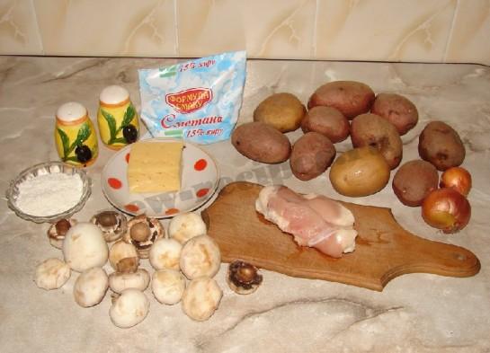 фаршированный картофель фото 1