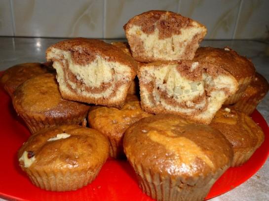 Вкусные мини кексы рецепты