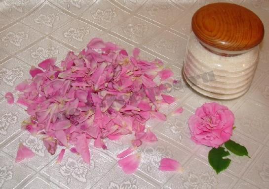розовое варенье 2