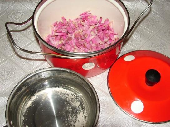розовое варенье 8