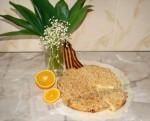 творожно-апельсиновый пирог 9 Мая