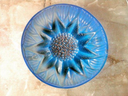 пирог подсолнух в силиконовой форме 1