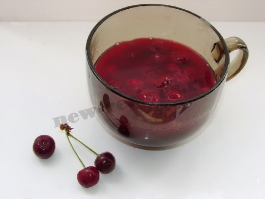 вишневый кисель