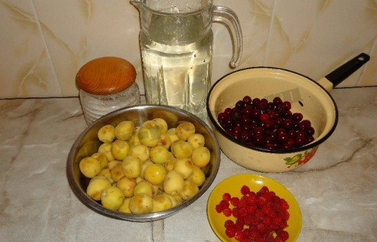вкусный домашний компот фото рецепт 1