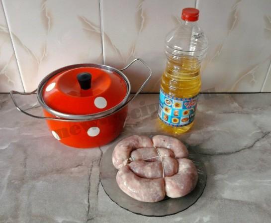 домашняя колбаса фото 1