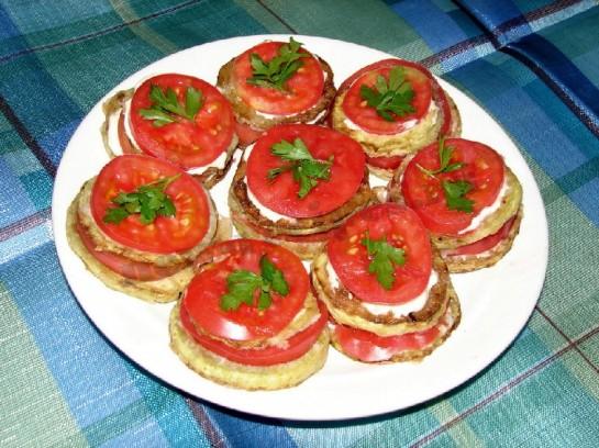 бутерброды с кабачком рецепты с фото