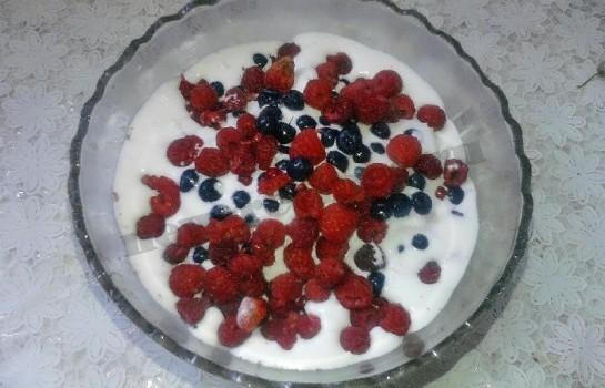 мороженое с ягодами 2