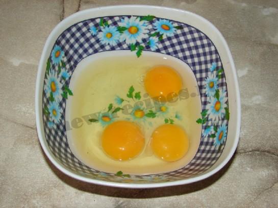 омлет со шпинатом 2