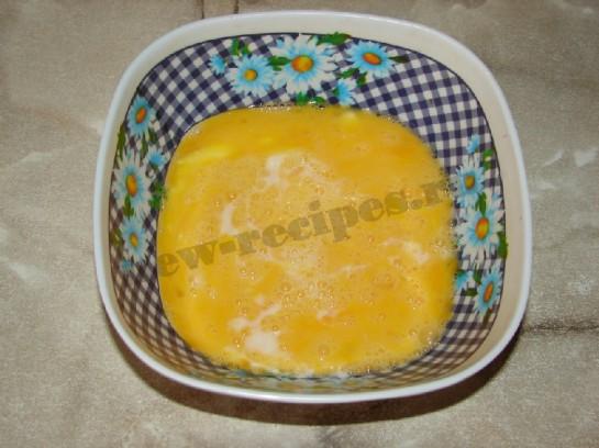омлет со шпинатом 3
