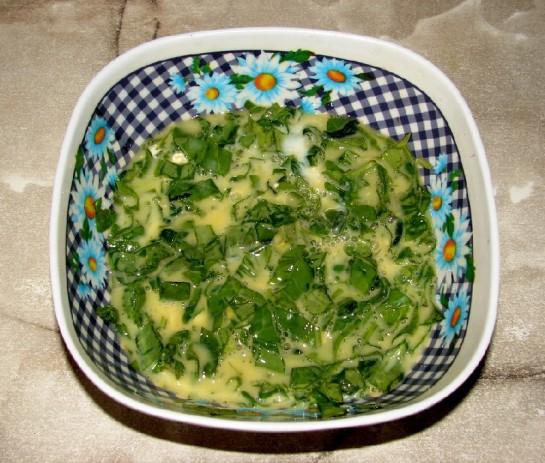 омлет со шпинатом 6