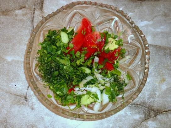 салат огурцы помидоры фото 4