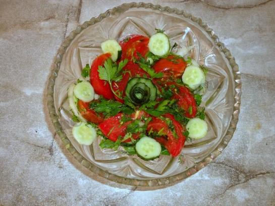 салат огурцы помидоры фото 5