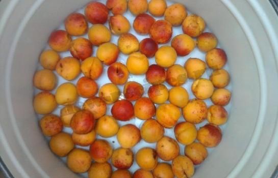 варенье из абрикос и смородины 2