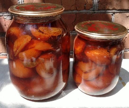 варенье из абрикос и смородины 6