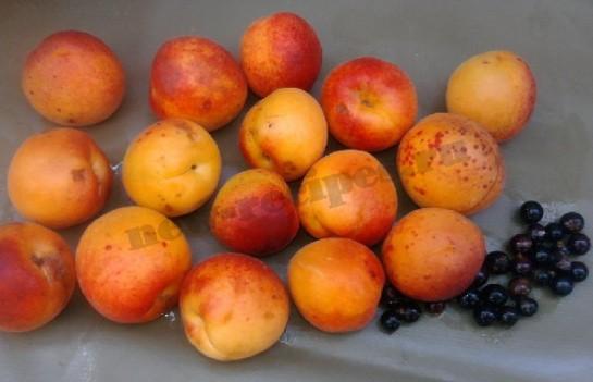 варенье из абрикос и смородины