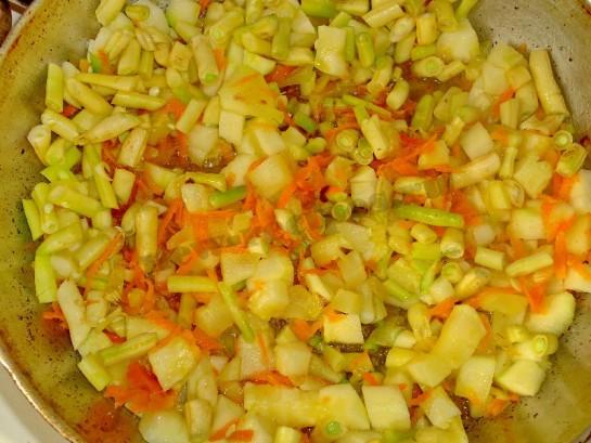вкусное рагу с колбасой 5